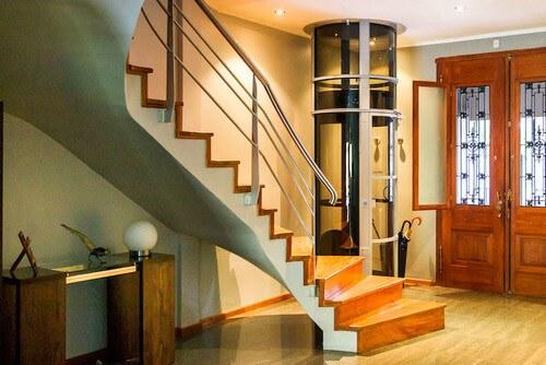 Elevadores verticales para viviendas unifamiliares